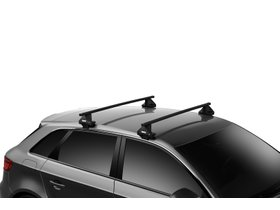 Багажник на гладкую крышу Thule Squarebar Evo для Ford Fusion (mkII) 2013→ (USA) 280x210 - Фото 2