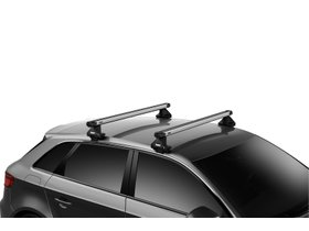 Багажник на гладкую крышу Thule Slidebar Evo для Polestar 2 (mkI) 2019→ 280x210 - Фото 2