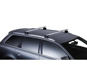 Багажник на интегрированные рейлинги Thule Wingbar Evo Rapid для Toyota Highlander (mkIII) 2013-2020 280x210 - Фото 2