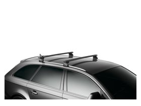 Багажник на интегрированные рейлинги Thule Wingbar Evo Rapid Black для Toyota Highlander (mkIII) 2013-2020 280x210 - Фото 2
