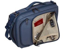 "Сумка для ноутбука Thule Crossover 2 Convertible Laptop Bag 15.6"" (Dress Blue) 280x210 - Фото 6"