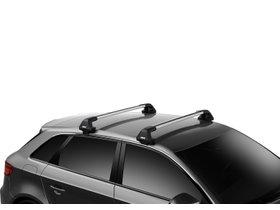Багажник на гладкую крышу Thule Edge Wingbar для Fiat 500X (mkI) 2015→ 280x210 - Фото 2