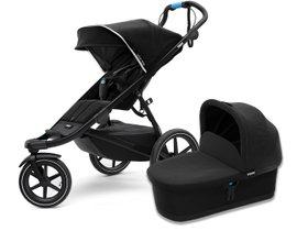 Детская коляска с люлькой Thule Urban Glide 2 (Black on Black)