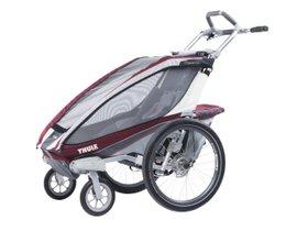 Детская коляска Thule Chariot CX 1 (Burgundy) 280x210 - Фото 2