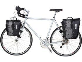 Велосипедные сумки Thule Shield Pannier Small (Black) 280x210 - Фото 4