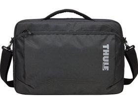 "Сумка для ноутбука Thule Subterra MacBook Attache 15"" (Dark Shadow) 280x210 - Фото 2"