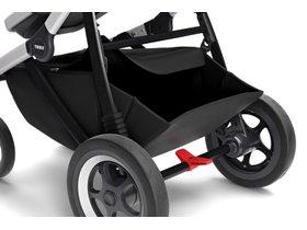 Детская коляска с люлькой Thule Sleek (Grey Melange) 280x210 - Фото 11