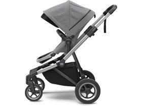 Детская коляска с люлькой Thule Sleek (Grey Melange) 280x210 - Фото 2