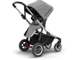 Детская коляска с люлькой Thule Sleek (Grey Melange) 280x210 - Фото 3