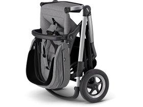 Детская коляска с люлькой Thule Sleek (Grey Melange) 280x210 - Фото 4