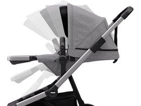 Детская коляска с люлькой Thule Sleek (Grey Melange) 280x210 - Фото 7