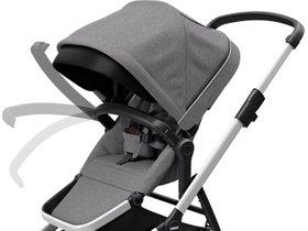Детская коляска с люлькой Thule Sleek (Grey Melange) 280x210 - Фото 8