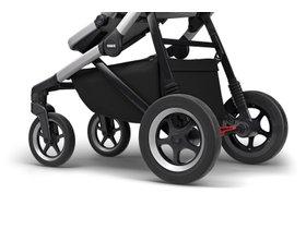Детская коляска с люлькой Thule Sleek (Grey Melange) 280x210 - Фото 9