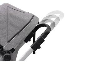Детская коляска с люлькой Thule Sleek (Grey Melange) 280x210 - Фото 10