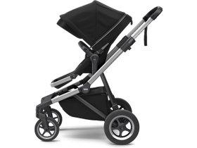 Детская коляска с люлькой Thule Sleek (Midnight Black) 280x210 - Фото 2