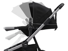 Детская коляска с люлькой Thule Sleek (Midnight Black) 280x210 - Фото 7