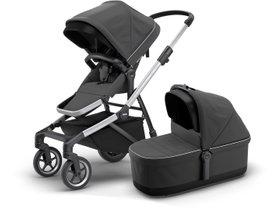 Детская коляска с люлькой Thule Sleek (Shadow Grey)