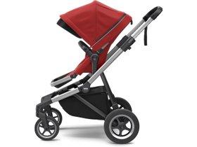 Детская коляска с люлькой Thule Sleek (Energy Red) 280x210 - Фото 2