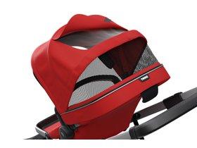 Детская коляска с люлькой Thule Sleek (Energy Red) 280x210 - Фото 6