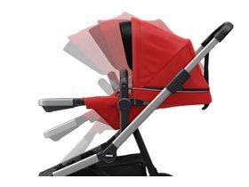 Детская коляска с люлькой Thule Sleek (Energy Red) 280x210 - Фото 7