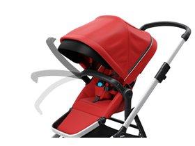 Детская коляска с люлькой Thule Sleek (Energy Red) 280x210 - Фото 8
