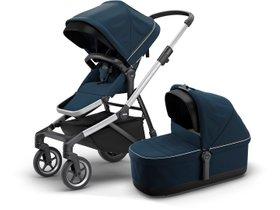 Детская коляска с люлькой Thule Sleek (Navy Blue)