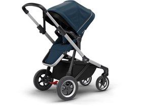 Детская коляска с люлькой Thule Sleek (Navy Blue) 280x210 - Фото 3