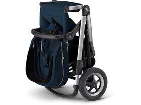 Детская коляска с люлькой Thule Sleek (Navy Blue) 280x210 - Фото 4