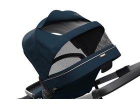 Детская коляска с люлькой Thule Sleek (Navy Blue) 280x210 - Фото 6