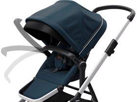 Детская коляска с люлькой Thule Sleek (Navy Blue) 280x210 - Фото 8