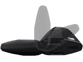 Поперечины (1,50m) Thule WingBar Evo 7115 Black 280x210 - Фото 7