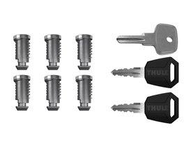 К-т ключей с личинками (6шт) Thule One-Key System 4506