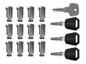 К-т ключей с личинками (12шт) Thule One-Key System 4512