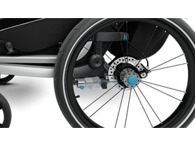 Детская коляска Thule Chariot Sport 1 (Black) 280x210 - Фото 10