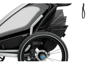 Детская коляска Thule Chariot Sport 2 (Black) 280x210 - Фото 11