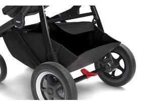 Детская коляска с люлькой Thule Sleek (Black on Black) 280x210 - Фото 11