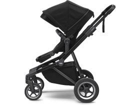 Детская коляска с люлькой Thule Sleek (Black on Black) 280x210 - Фото 2