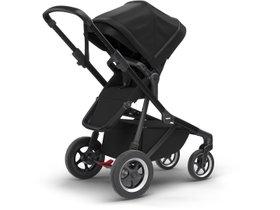 Детская коляска с люлькой Thule Sleek (Black on Black) 280x210 - Фото 3