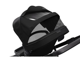 Детская коляска с люлькой Thule Sleek (Black on Black) 280x210 - Фото 6