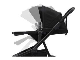 Детская коляска с люлькой Thule Sleek (Black on Black) 280x210 - Фото 7