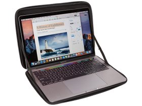 """Чехол Thule Gauntlet MacBook Pro Sleeve 13"""" (Black) 280x210 - Фото 5"""