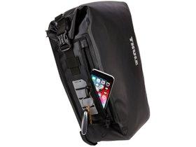 Велосипедная сумка Thule Shield Pannier 17L (Black) 280x210 - Фото 5