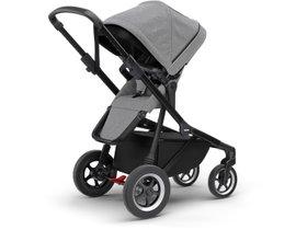 Детская коляска с люлькой Thule Sleek (Black/Grey Melange) 280x210 - Фото 4