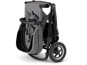 Детская коляска с люлькой Thule Sleek (Black/Grey Melange) 280x210 - Фото 5