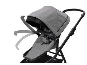 Детская коляска с люлькой Thule Sleek (Black/Grey Melange) 280x210 - Фото 9