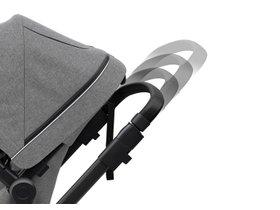 Детская коляска с люлькой Thule Sleek (Black/Grey Melange) 280x210 - Фото 10