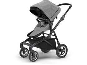 Детская коляска Thule Sleek (Black/Grey Melange)