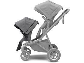 Прогулочное кресло Thule Sleek Sibling Seat (Black/Grey Melange) 280x210 - Фото 3
