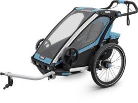 Детская коляска Thule Chariot Sport 1 (Blue-Black)