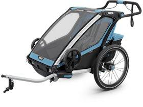 Детская коляска Thule Chariot Sport 2 (Blue-Black) 280x210 - Фото